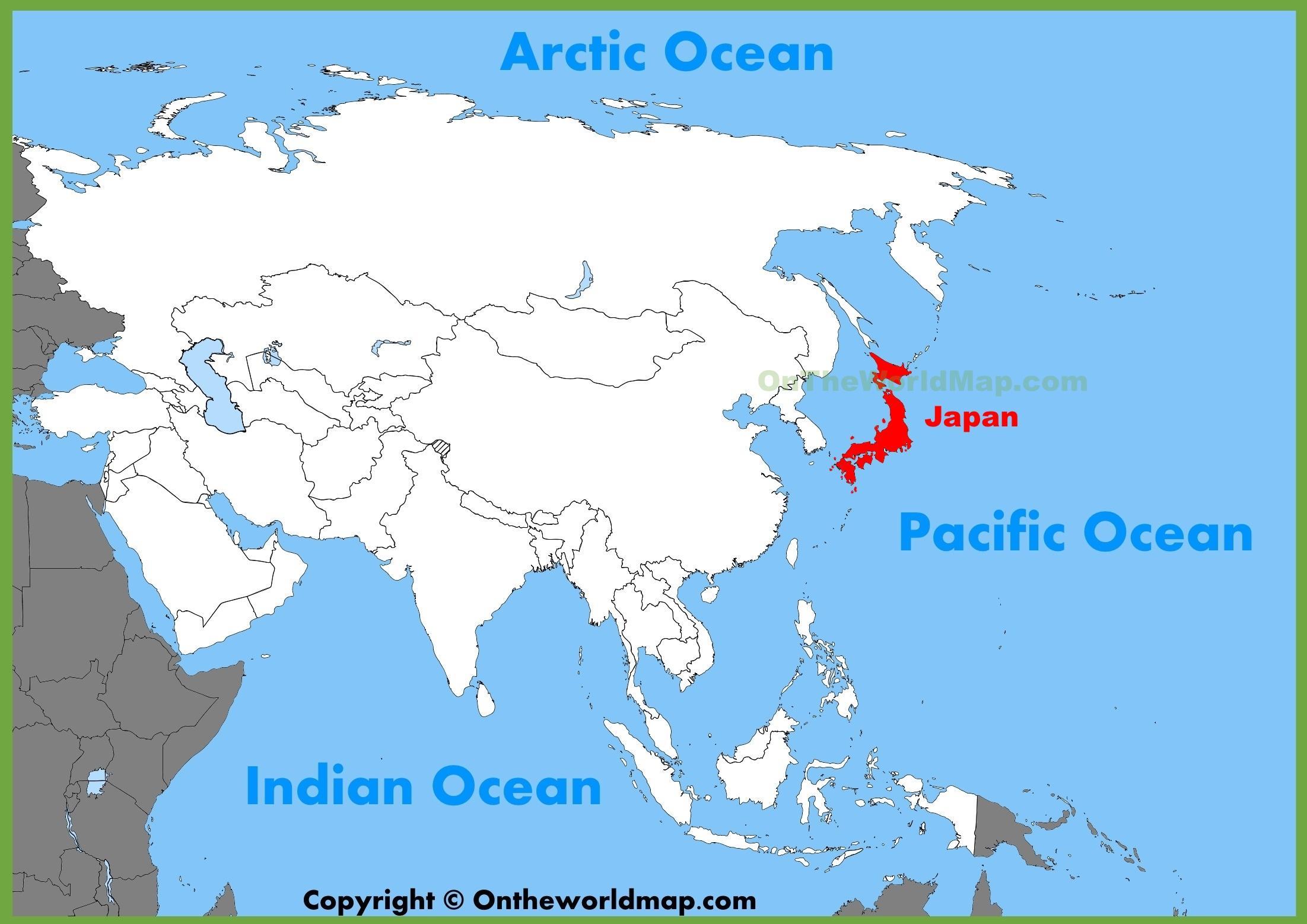 japao mapa Japão, mapa de localização e o Japão, mapa de localização (Ásia  japao mapa